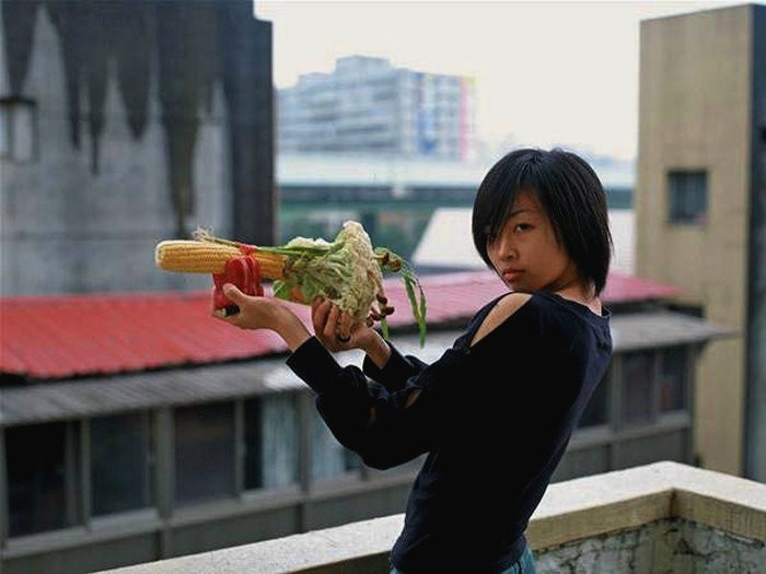 Овощное оружие в арт-проекте Vegetable Weapon от Tsuyoshi Ozawa