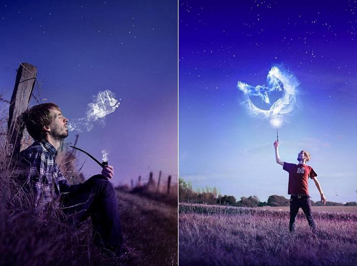 Волшебные фотографии Винсента Бурийона (Vincent Bourilhon)