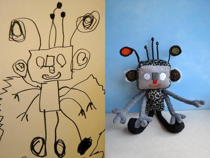 Игрушки по эскизам ребенка. Арт-проект Child''''''''''''''''s Own Studio