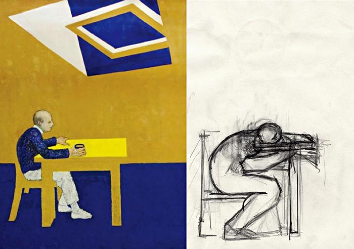 Отчаяние. Автопортрет Уильяма Утермолена за 1996 год
