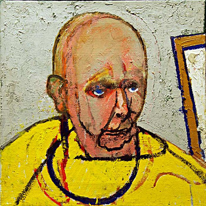 Два года после диагноза. Автопортрет в студии (1997)