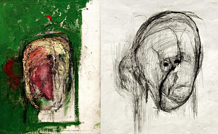 Альцгеймер прогрессирует. Последние автопортреты Уильяма Утермолена (1999-2000)