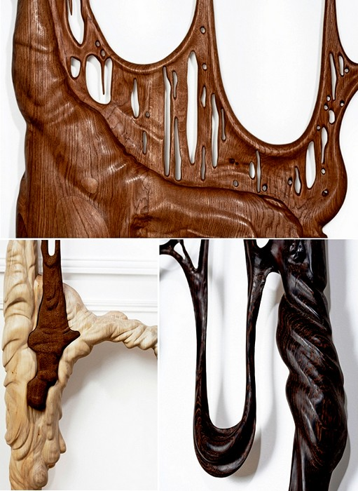 Парадоксальное творчество. Деревянные скульптуры из серии Duramen