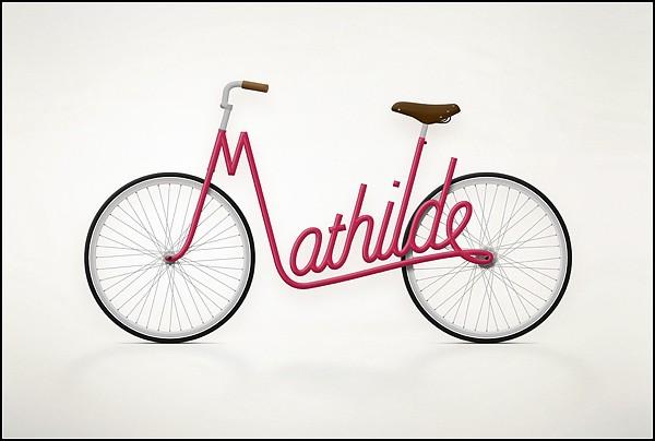 Подпиши свой велосипед. Арт-проект Write a bike