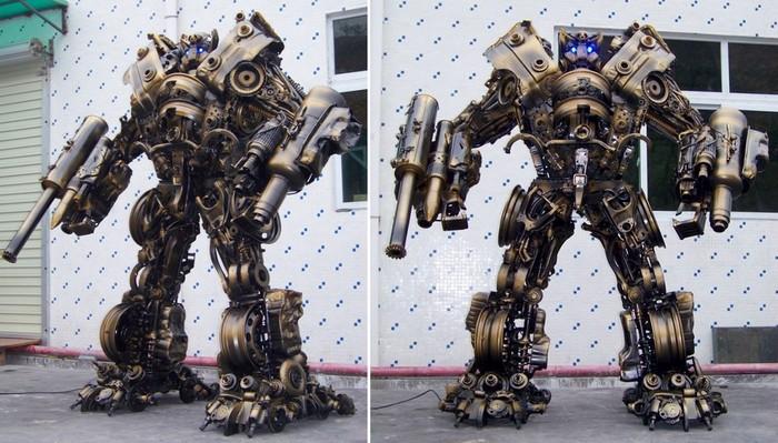 Железные роботы-трансформеры