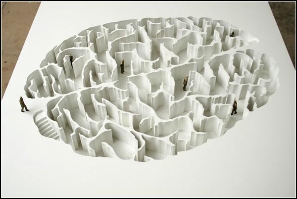 Мозг. Образные скульптуры Йоана Капоте (Yoan Capote)