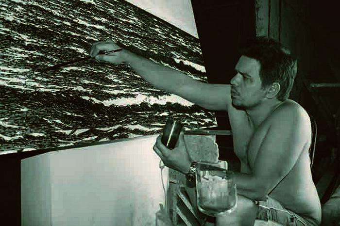 Массивный пейзаж Isla (Seascape) Йоана Капоте (Yoan Capote)