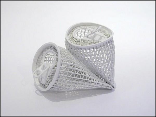 Бумажно-акриловые баночки-скульптуры от Yoshio Hasegawa