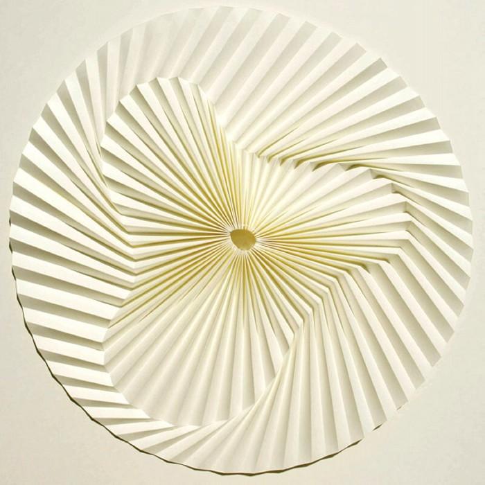 Relief, бумажные оригами-мандалы от Yukio Nishimura