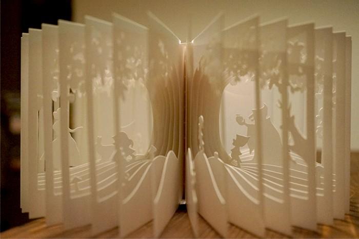 Трехмерная книга 360° book от Yusuke Oono