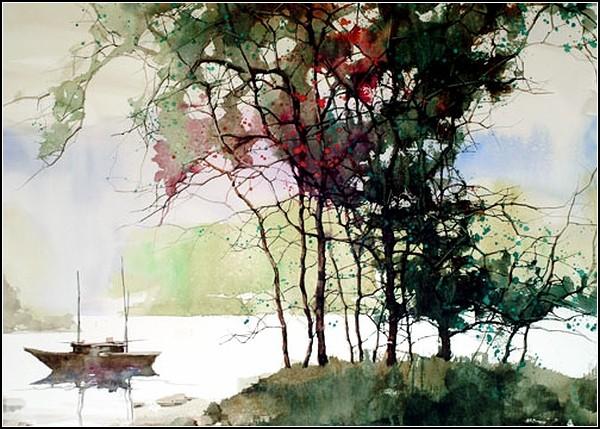 Американские пейзажи в китайском стиле от ZL Feng