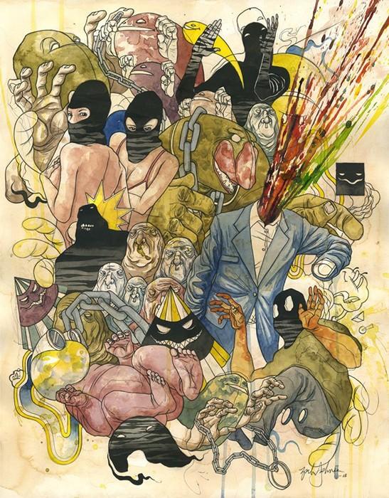 Феерические акварельные иллюстрации Зака Джонсона (Zach Johnsen)