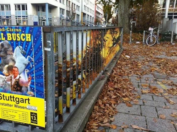 Граффити-иллюзии на заборах от студии Zebrating-Art