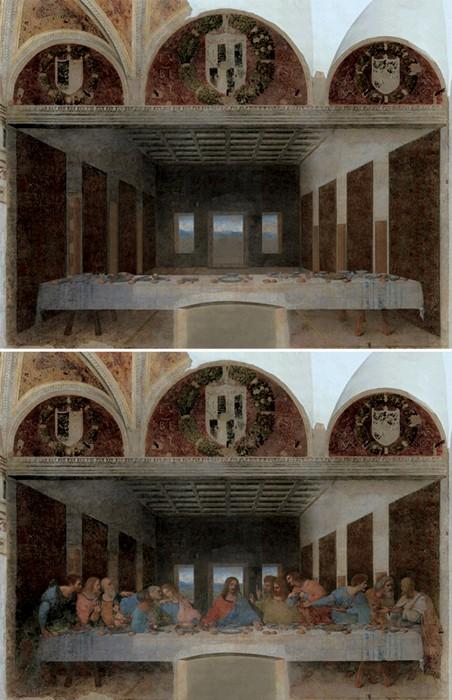 Леонардо да Винчи «Тайная Вечеря»