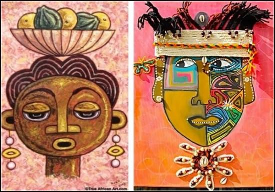 Африканская живопись из галереи TrueAfricanArt