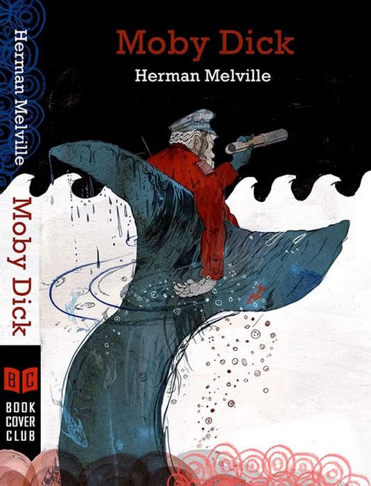 Обложка для *Моби Дика* на конкурсе Polish Book Cover Contest