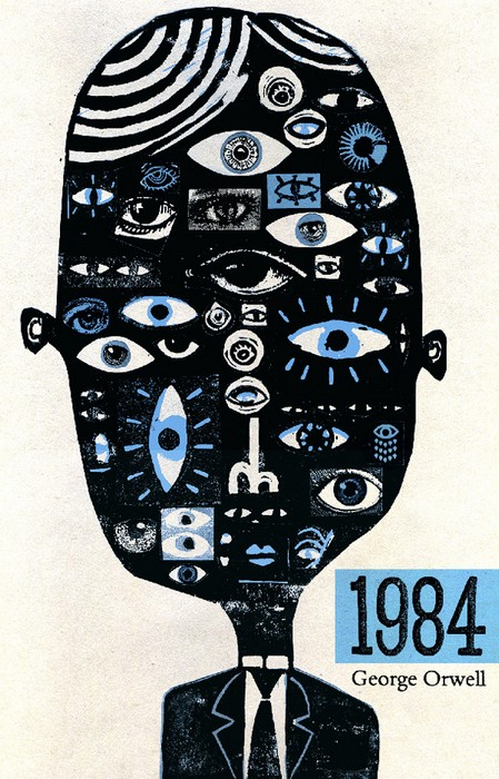 Обложка для *1984* Дж.Оруэлла. Первое место на конкурсе Polish Book Cover Contest