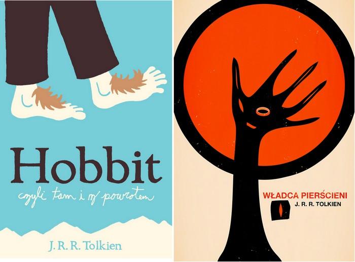 Альтернативные обложки для произведений Р.Р.Толкина. Конкурсные работы для Polish Book Cover Contest