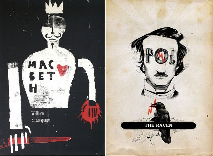 Обложки для произведений Шекспира и Эдгара По на конкурсе  Polish Book Cover Contest