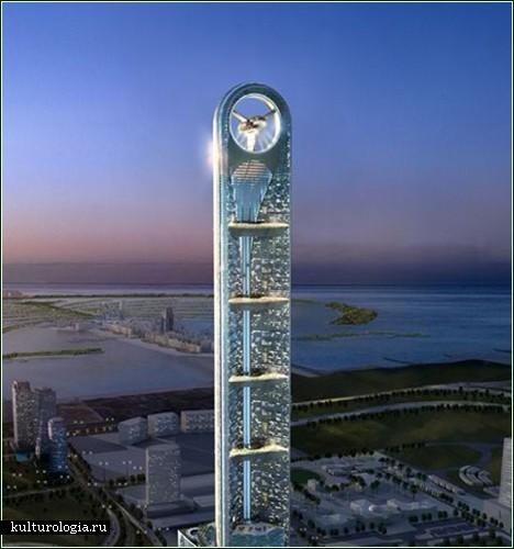 Новый небоскреб в Арабских Эмиратах, теперь с пропеллером