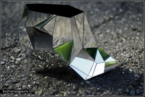 Зеркально-хрустальные туфли для современной Золушки