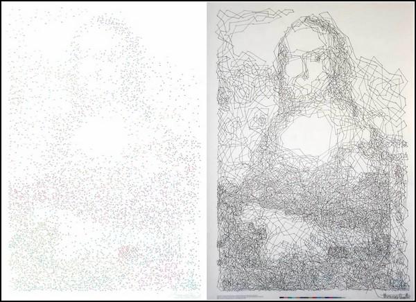Mona Lisa.dot. Ребус, арт-проект и развлечение на 10 часов