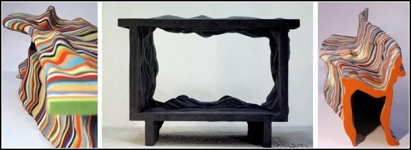 Измятый арт-проект от Studio Julien Сarretero