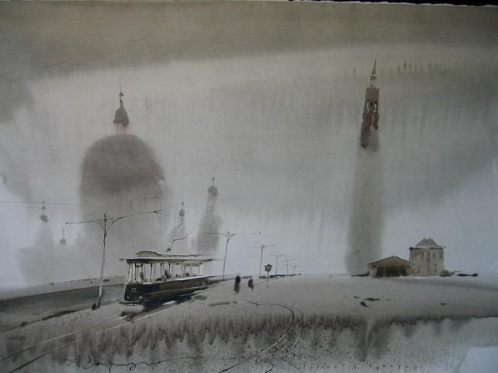 Севастополь, Прага и многое другое. Картины акварелью от Аруша Воцмуша (Александра Шумцова)