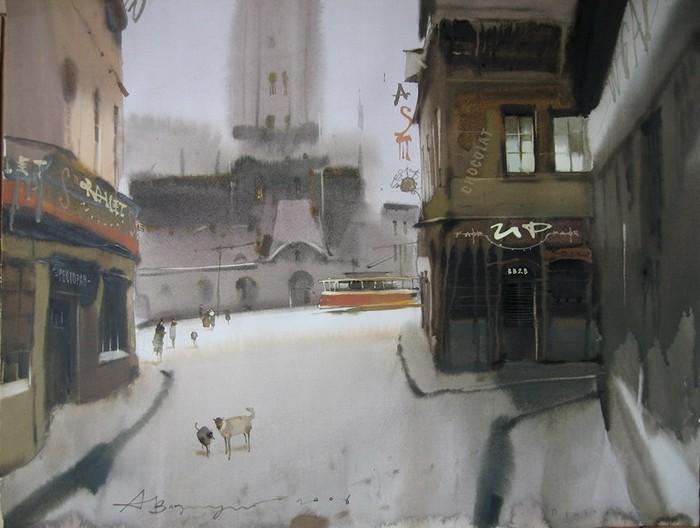 Волшебная живопись Аруша Воцмуша (Александра Шумцова)
