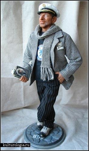 Авторские куклы из полимерной глины. Марина и Владимир Рычкаль