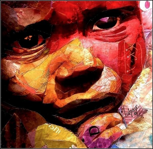 Южноафриканский художник рисует эмоциями
