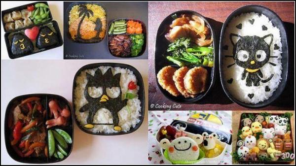 Суши-арт в японских bento-boxes