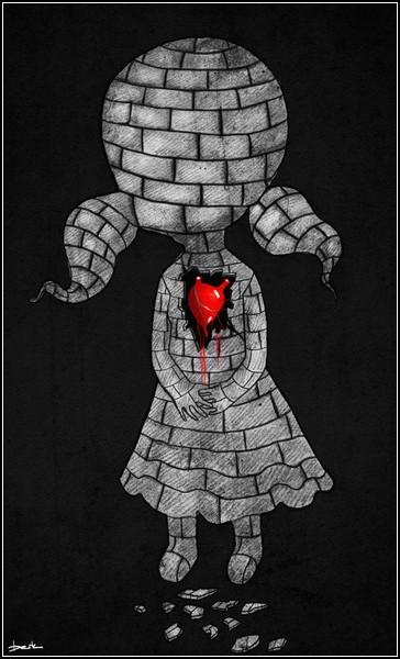 Каменная девочка с живым сердцем
