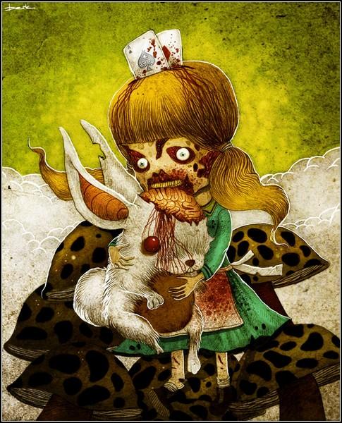 Печальный итог приключений Алисы и Белого Кролика