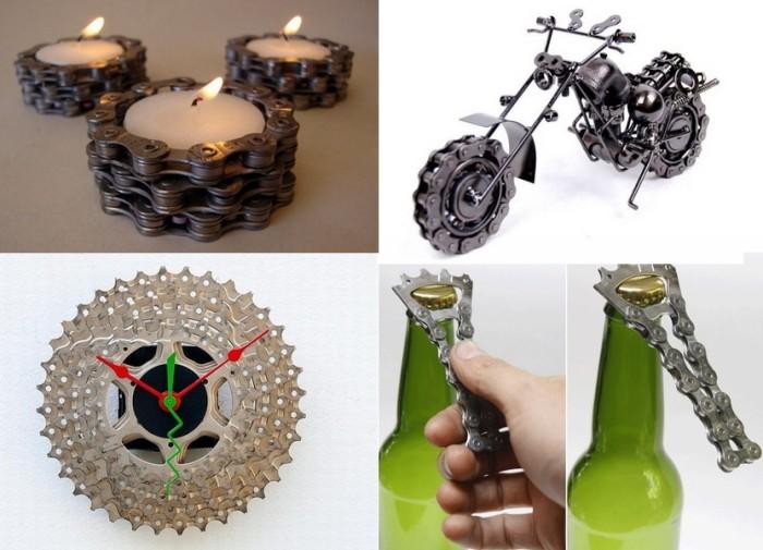Обзор арт-объектов из частей велосипеда