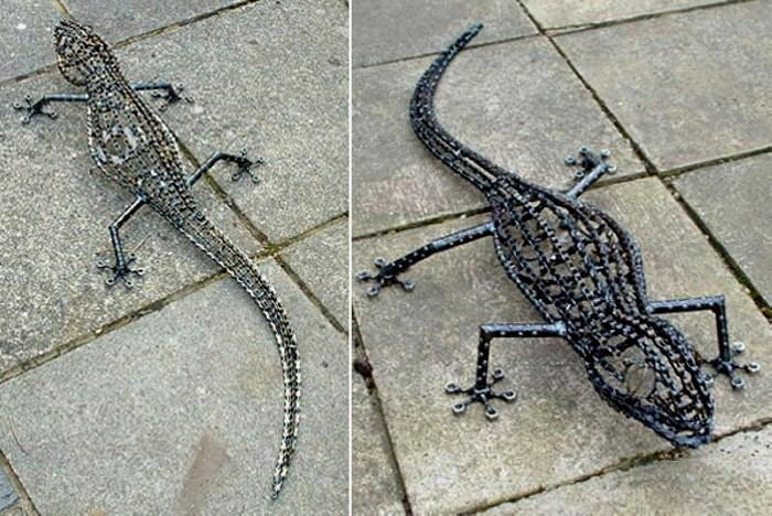 Велосипедная ящерица от Daren Greenhow