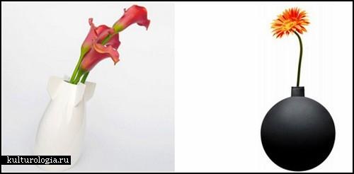 Креативные вазы а-ля *мирные бомбы*