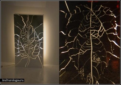 Искусство разбивать зеркала. Необычные картины из трещин