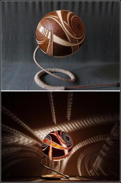 Необычные лампы от арт-студии Calabarte
