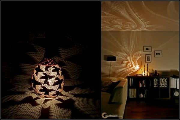 Необычные настольные лампы, эксклюзивный креатив