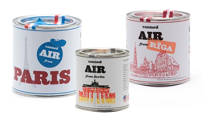 Canned Air. Консервированный воздух в арт-проекте Кирилла Руденко