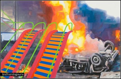 Провокационная живопись Криса Хагерти (Chris Hagerty)