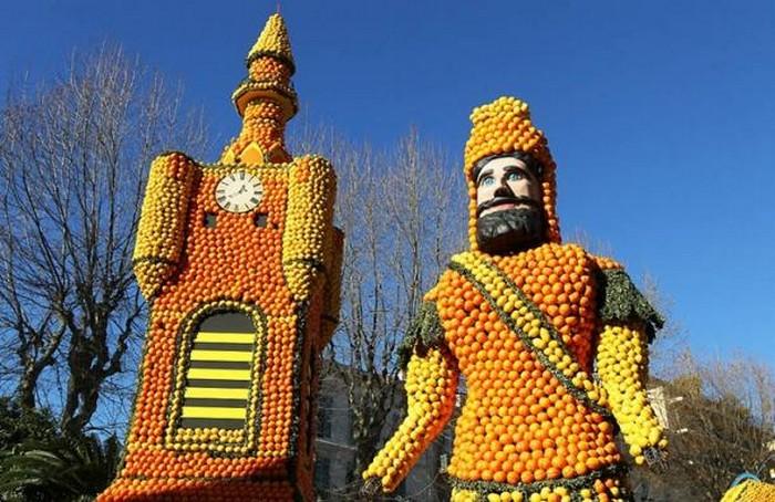 Ежегодный фестиваль цитрусовых Citron во Франции