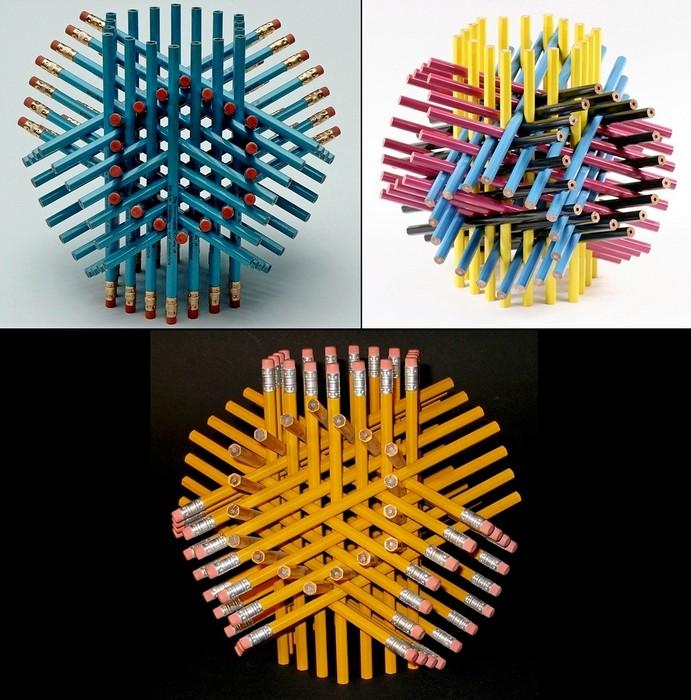Серия 72 Pencils от George W. Hart