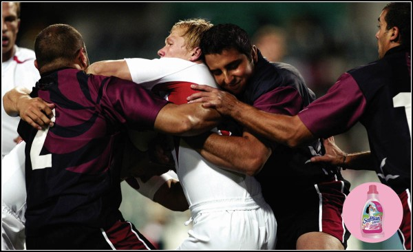 Feel When Playing Rugby