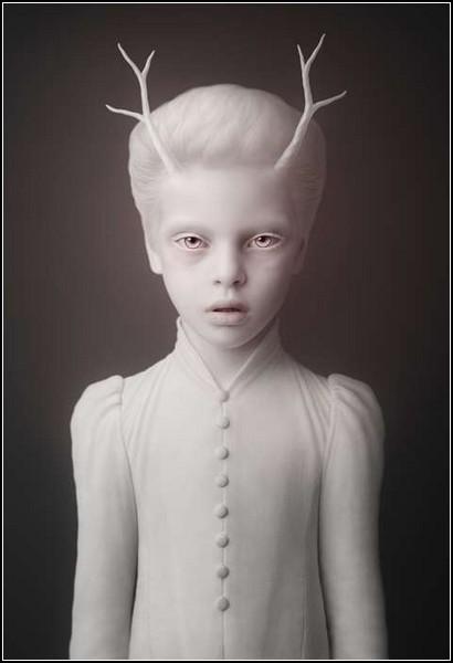 Ребенок олененок. Фотопроект Cubs от Олега Доу