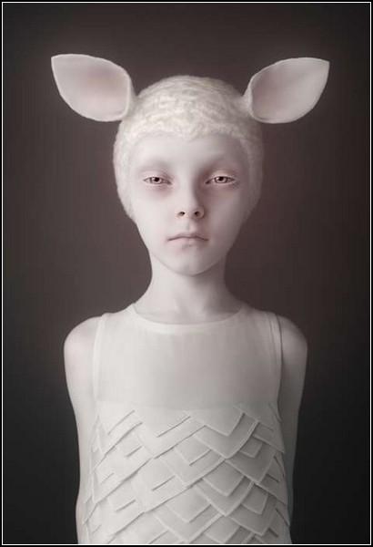 Ребенок козленок. Фотопроект Cubs от Олега Доу