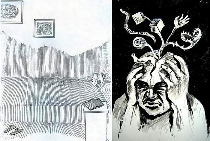 Картины пациентов психоневрологического диспансера