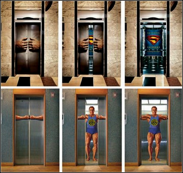 Лифт, мнящий себя супергероем