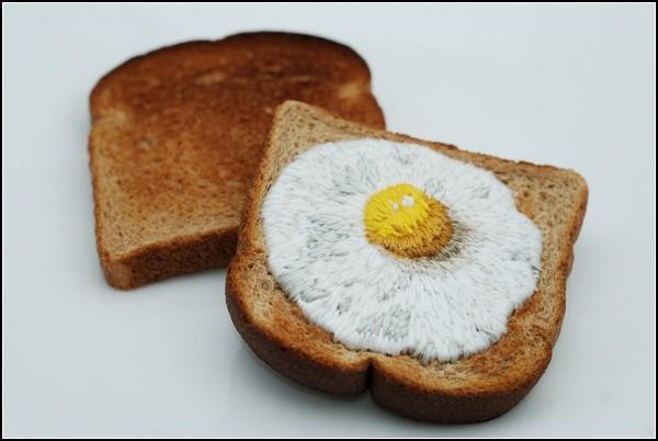 Игры с едой. Креативный, но несъедобный арт-проект From Scratch от Джудит Клаусер